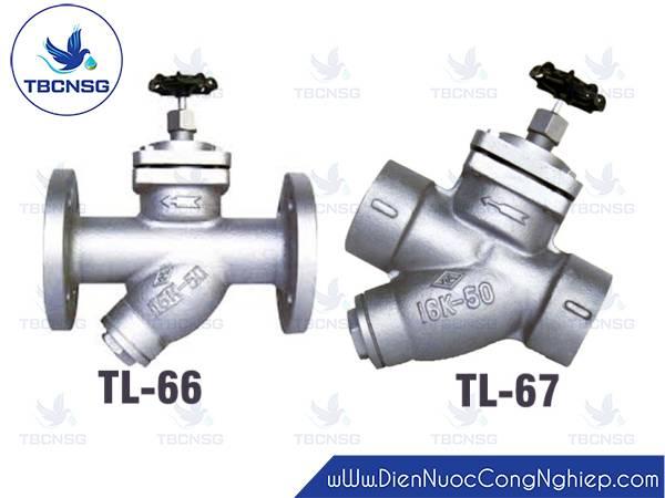 Bẫy hơi TungLung TL-66, TL-67 có tay xoay