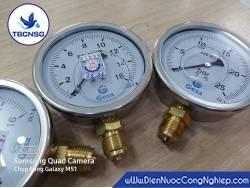 Đồng hồ áp suất Gesa M0301