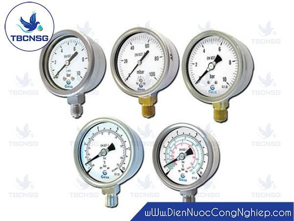 Đồng hồ áp suất Gesa M0306