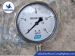 Đồng hồ áp suất KVS..