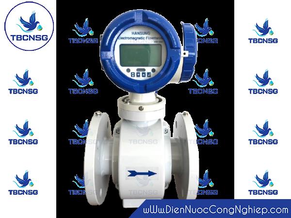 Đồng hồ nước điện từ Hansung HS1000