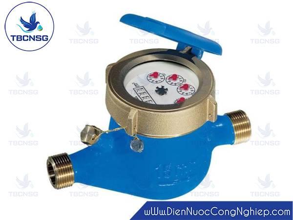 Đồng hồ nước Unik DN15 lắp đường ống phi 21mm