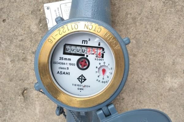 Đồng hồ nước Asahi nối ren