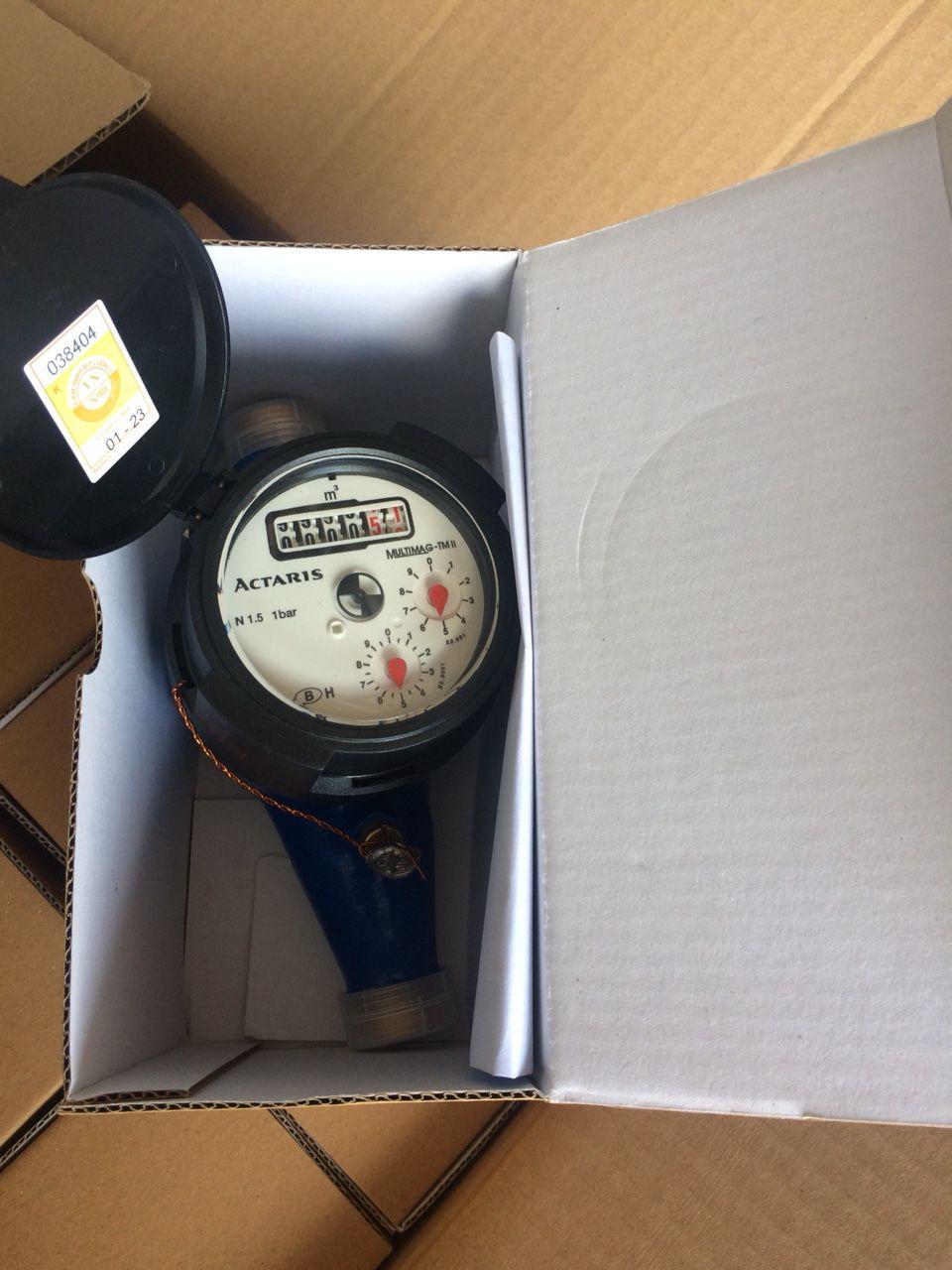 Đồng hồ nước Itron Actaris lắp ren