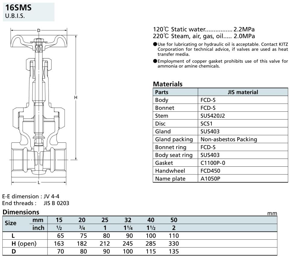 Van cổng 16K - 16SMS - Kitz