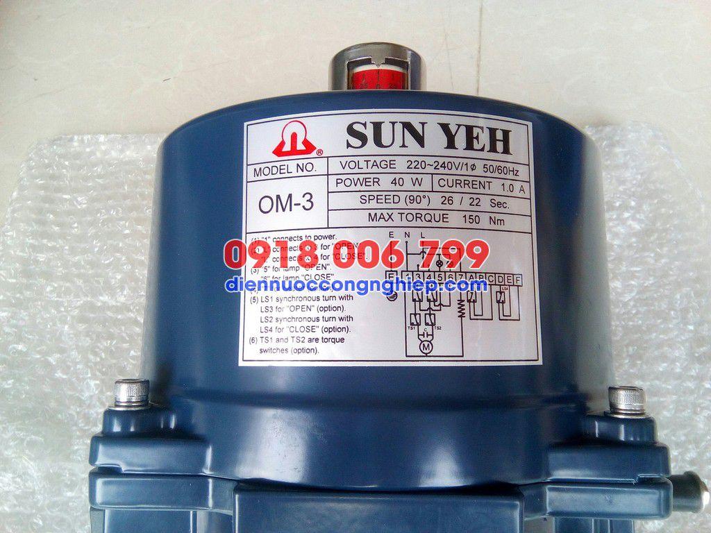Thông số đầu Sunyeh OM3